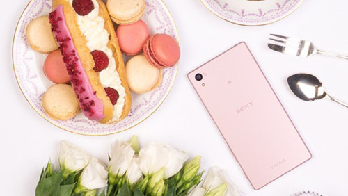 Z5 pink Xperia expected officially on sale in February 2016 - Photo: Sony