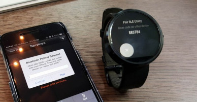 How to use the smartwatch in combination with Iphone