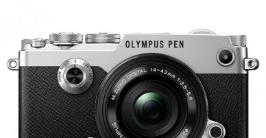 Olympus camera has a retro style from the 1960s