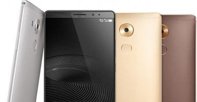 Huawei Mate 8 is released with big screen and insane battery life at CES 2016