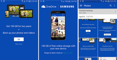 How to get 100GB storage OneDrive for your Galaxy Note 5, S6 edge+ for free