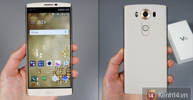 LG G5 smartphone: the minus and plus points