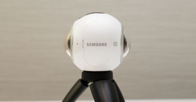 Samsung introduced a 360-degree camera